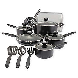 SilverStone Culinary Colors Nonstick 15-Piece Aluminum Cookware Set