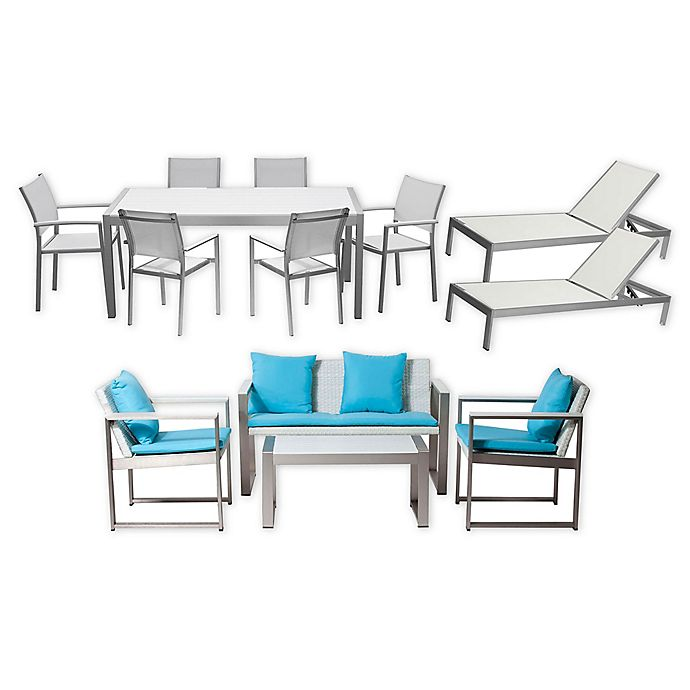 Alternate image 1 for Pangea Home® Chester 13-Piece Patio Conversation Set