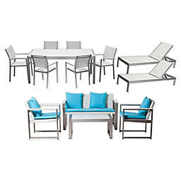 Pangea Home® Chester 13-Piece Patio Conversation Set