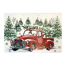 Holiday Truck Printed Placemat