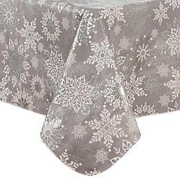 Sparkle Snowflake Tablecloth