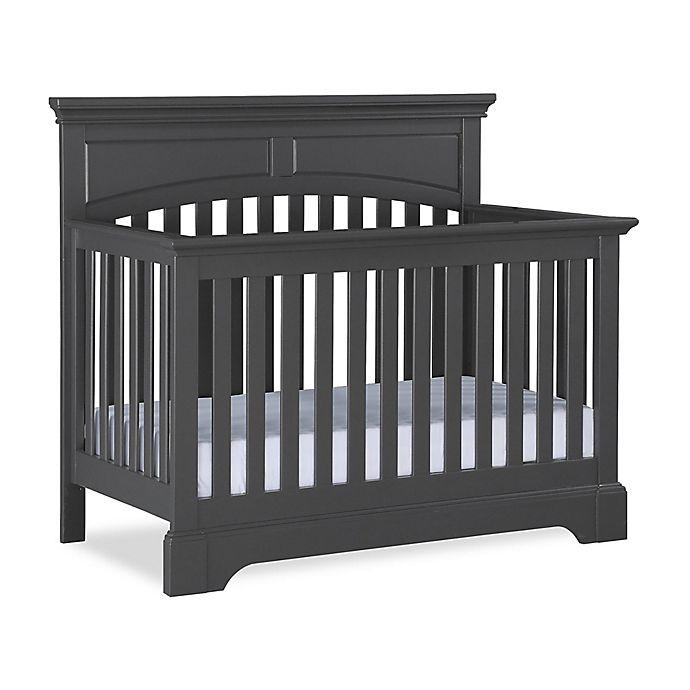 Alternate image 1 for Bertini® Fairhaven 5-in-1 Convertible Crib in Slate Grey