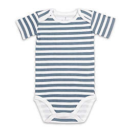 The Peanutshell™ 3-Pack Bodysuits in Blue/Grey