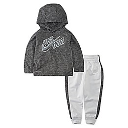 Nike® 2-Piece Dri-FIT Just Do It Hoodie and Jogger Set in Black