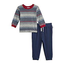 Splendid® 2-Piece Navy Stripe Shirt and Sweatpant Set