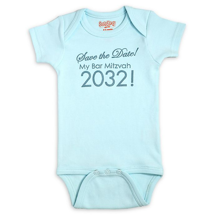 Alternate image 1 for Sara Kety Bar Mitzvah 2032 Bodysuit in Light Blue