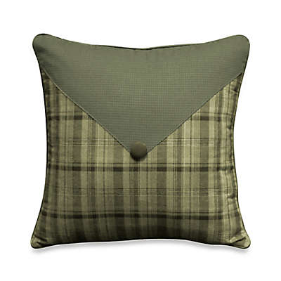 Cabela's Barnwood Patch 14-Inch Square Throw Pillow