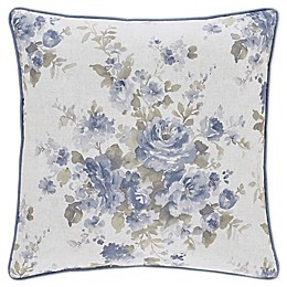 Piper & Wright Frances 20-Inch Square Throw Pillow in Blue
