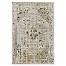 CosmoLiving Avenue Tuscan Area Rug in Ivory/Gold