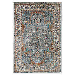 CosmoLiving Avenue Cool Area Rug in Grey/Ivory
