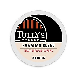 Tully's Coffee® Hawaiian Blend Medium Roast Coffee Keurig® K-Cup® Pods 18-Count