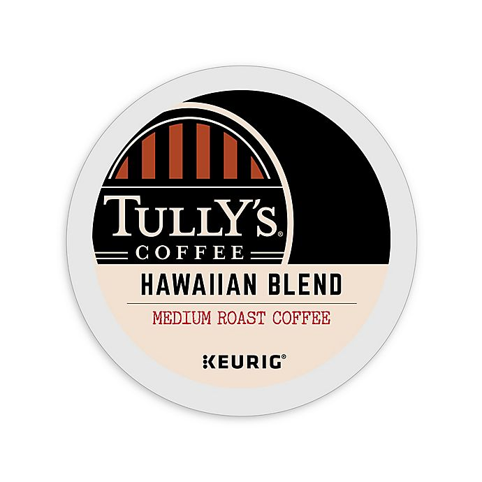 Alternate image 1 for Tully's Coffee® Hawaiian Blend Medium Roast Coffee Keurig® K-Cup® Pods 18-Count