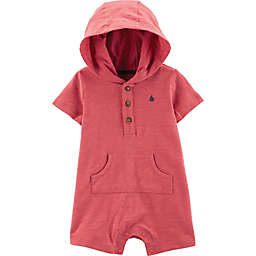 carter's® Sailboat Hooded Romper in Red