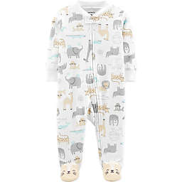 carter's® Safari Footie in Ivory