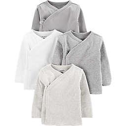 carter's® 4-Pack Long Sleeve Kimono Tops