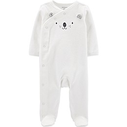 carter's® Bear Footie in Ivory