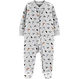 carter's® Dino Footie in Grey