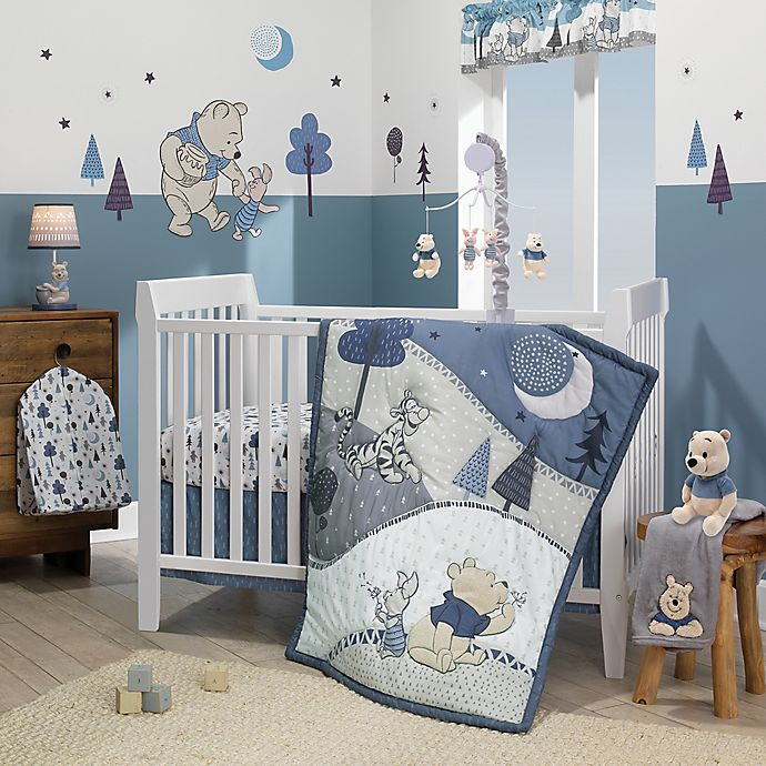 Alternate image 1 for Lambs & Ivy® Forever Pooh Crib Bedding Collection