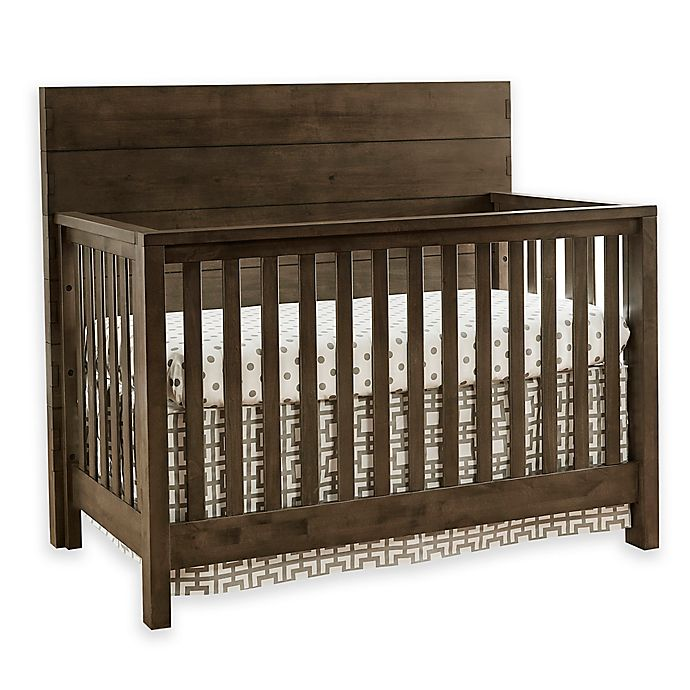 Alternate image 1 for Westwood Design Dovetail 4-in-1 Convertible Crib in Graphite