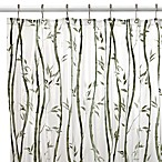 Bamboo Vinyl 70-Inch W x 72-Inch L Shower Curtain