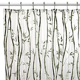 Bamboo Vinyl Shower Curtain