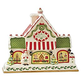 Lenox® Holiday® Bakeshop Musical Centerpiece in Red/Green