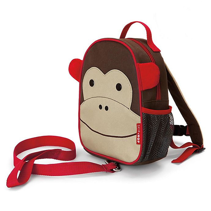 Alternate image 1 for SKIP*HOP® Zoo Monkey Safety Harness / Mini Backpack with Rein