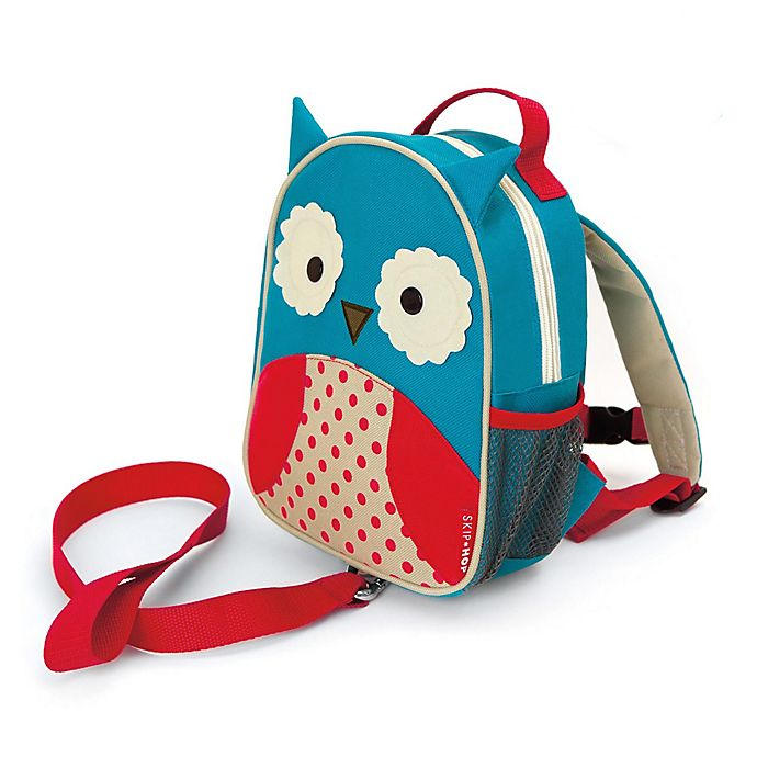 Alternate image 1 for SKIP*HOP® Zoo Owl Safety Harness / Mini Backpack with Rein