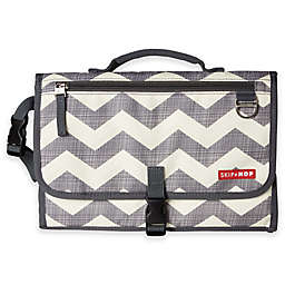 SKIP*HOP® Pronto Changing Station in Grey Chevron