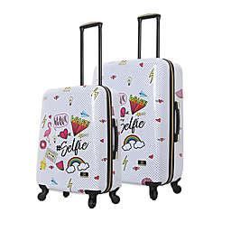Halina Nikki Chu Whatever Hardside Spiner Suitcase
