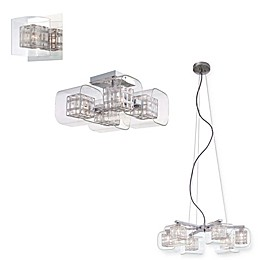 George Kovacs® Jewel Box Lighting Collection in Chrome
