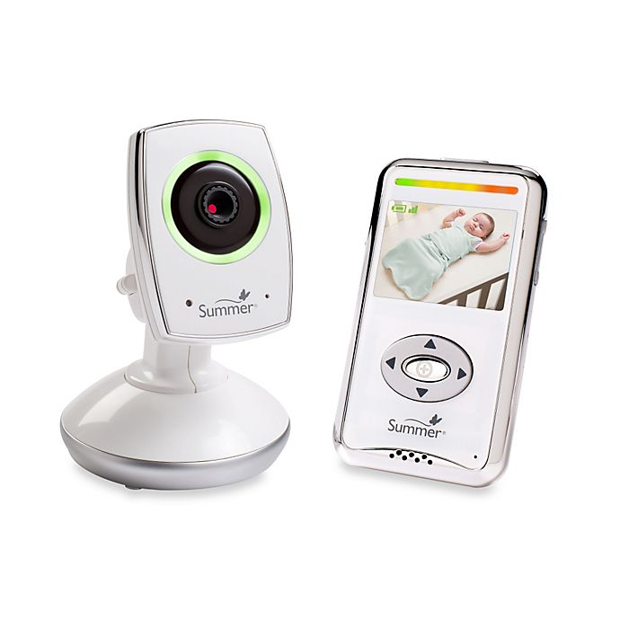 Alternate image 1 for Summer Infant® Baby Zoom™ WiFi Video Monitor & Internet Viewing System