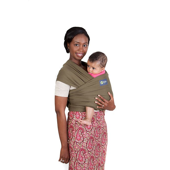 0171089a75b boba® Wrap Baby Carrier in Dark Green