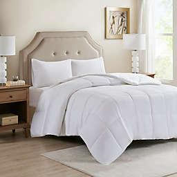 Sleep Philosophy 300-Thread-Count Down Alternative Full/Queen Comforter in White