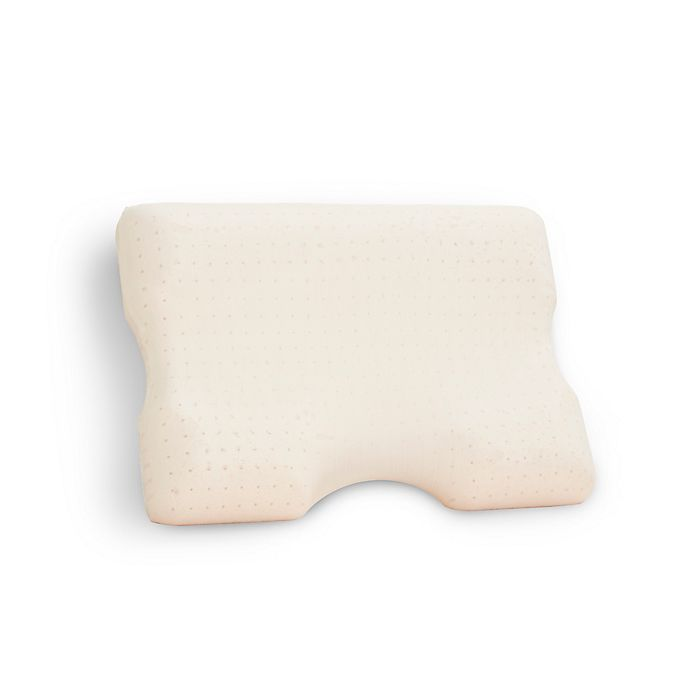 Alternate image 1 for Advanced Contour Copper-Infused Gel Memory Foam Contour Pillow in Beige