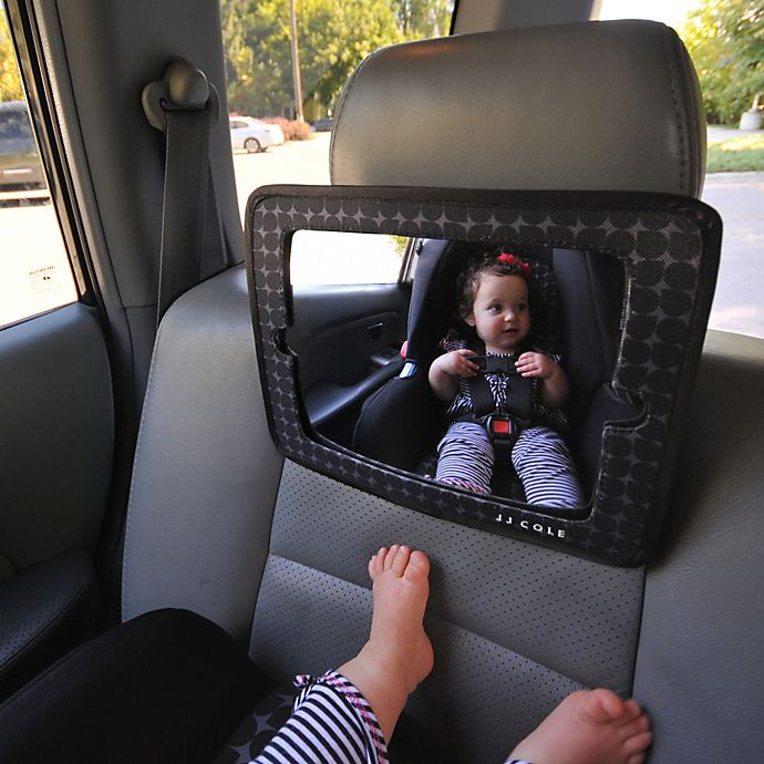Alternate image 1 for JJ Cole® 2-in-1 Car Mirror and Tablet Holder