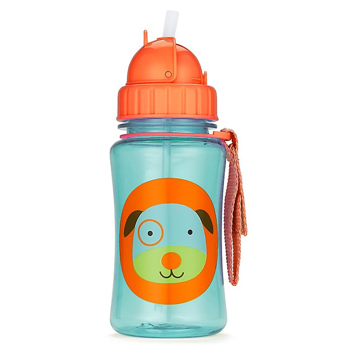 Alternate image 1 for SKIP*HOP® Zoo 12 oz. Dog Straw Bottle