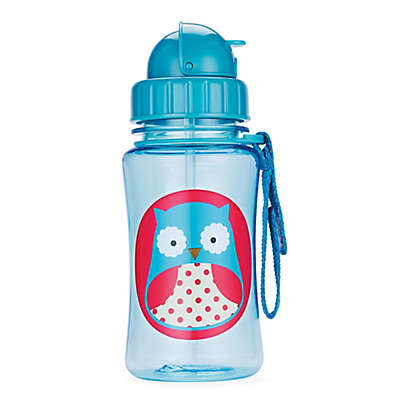 SKIP*HOP® Zoo 12 oz. Owl Straw Bottle