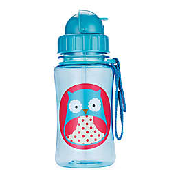 SKIP*HOP® Zoo 12 oz. Owl Straw Bottle