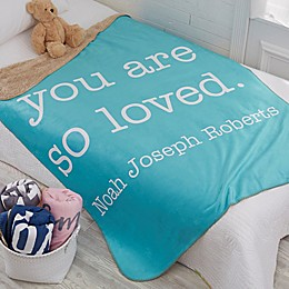 Write Your Own Kids Expressions Personalized Blanket