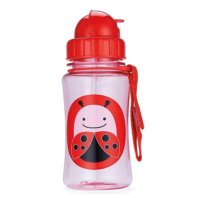 Alternate image 1 for SKIP*HOP® Zoo 12 oz. Ladybug Straw Bottle