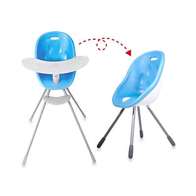 phil&teds® Poppy™ High Chair in Bubble Gum Blue