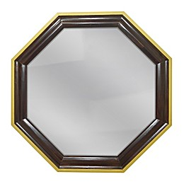 PTM Images Aria 26-Inch Square Framed Wall Mirror