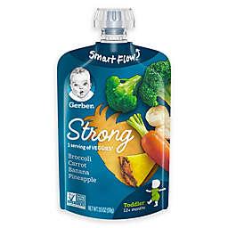 Gerber® 3.5 fl. oz. StrongToddler Pouches Broccoli Carrot Banana Pineapple