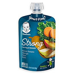 Gerber® 3.5 fl. oz. StrongToddler Pouches Sweet Potatoe Mango Pear Kale