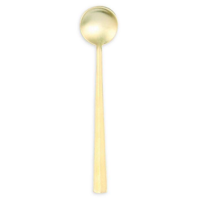 Nagasaki Coffee Spoons In Matte Gold
