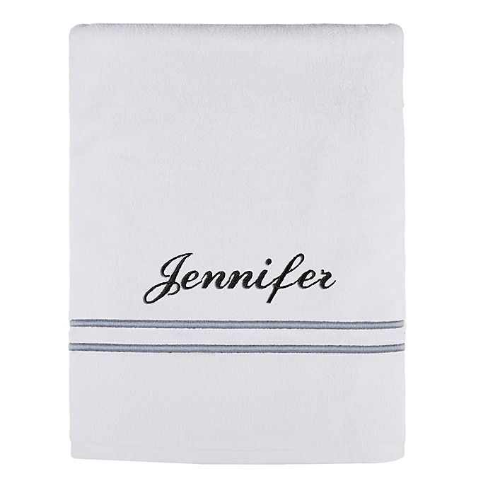 Alternate image 1 for Monogrammed  Wamsutta® Classic Turkish Bath Sheet