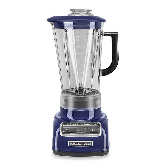 Alternate image 1 for KitchenAid® 5-Speed Diamond Blender in Cobalt Blue