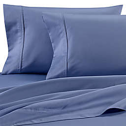Wamsutta® Dream Zone® Cotton Sateen 850-Thread-Count King Pillowcases in Blue Jean