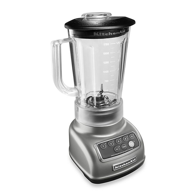 Alternate image 1 for KitchenAid® 5-Speed Classic Blender with Intelli-Speed™ Motor Control in Silver